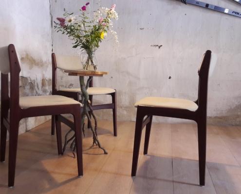 palissander eetkamerstoelen