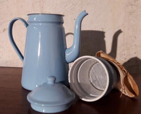 koffiekan blauw IB Laursen