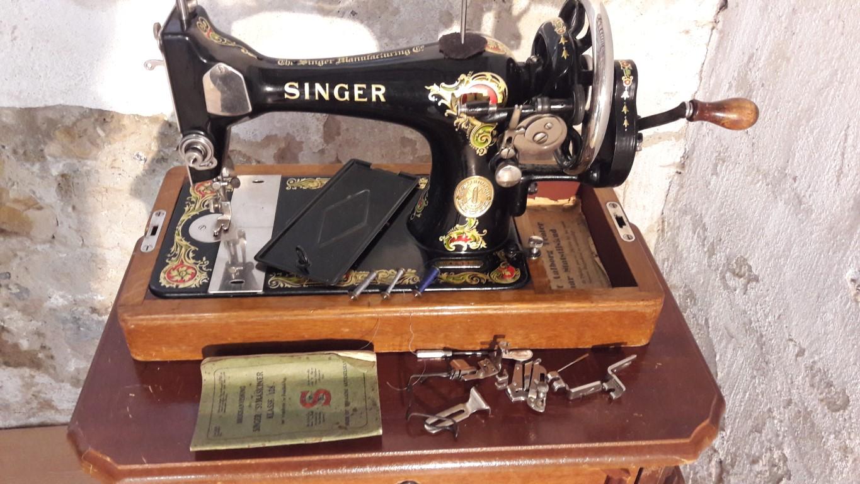 Singer handnaaimachine