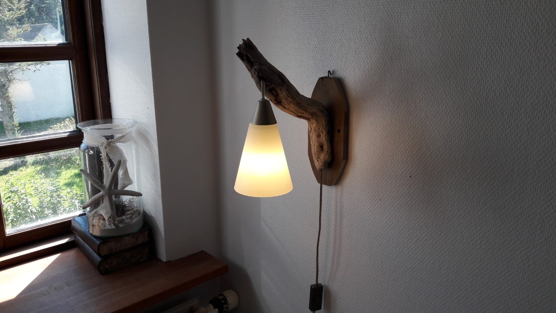 drijfhout nacht/leeslampje