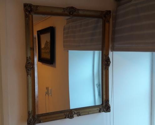spiegel gipsen lijst