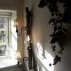 driftwoodlamp 3 opengewerkte kapjes Handcrafted by DGH